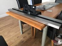Sony SU-B460S Monolithic TV Soundbar Sound Bar Speaker Stand Bravia KDL46 5.1 Aluminium