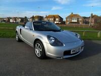 2002 TOYOTA MR2 1.8 ROADSTER CONVERTIBLE 2D 138 BHP