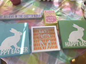 Easter Decor Brand New Condition