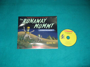 The Runaway Mummy with CD Primary Reading book