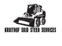 FOR HIRE: KRUITHOF SKID STEER SERVICES