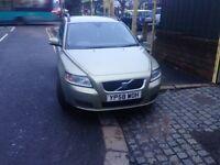 2009 58reg Volvo V50 1.8 Petrol Cheapest In U.K.