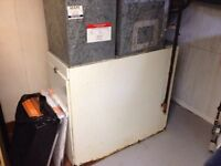 Furnace, air conditioner, water heaters, gas lines