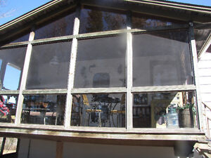 Outside Porch panels - screens and doors for sale