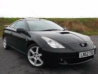 TOYOTA CELICA 1.8 vvti ( Premium Pack+Sports ) ABSOLUTELY STUNNING, A MUST SEE
