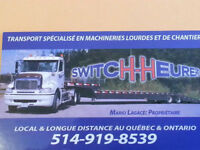 transport de machinerie lourds