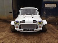 Classic Mini - Ford Cosworth 2.0 Turbo - 4x4 - Tax Exempt