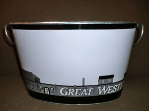 Great Western oval ice bucket $4.00.