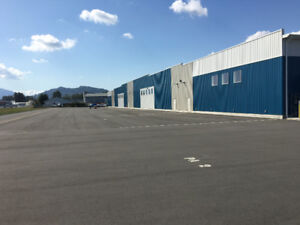 Outdoor South Exposure Tie Down Space at Chilliwack Airport