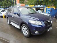 2011 60 HYUNDAI SANTA FE 2.2 CRDI PREMIUM 4X4 IN BLUE # ONLY 23000 MLS FROM NEW