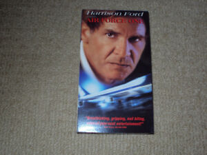 AIR FORCE ONE, VHS MOVIE, EXCELLENT CONDITION