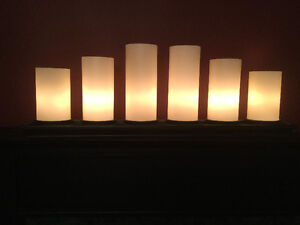 Pottery Barn 6 candle light