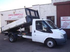 Ford Transit 350 115 TDCI One Stop Under Floor Alloy Tipper