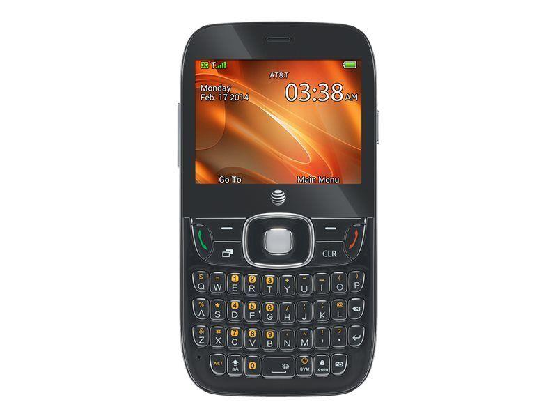 ZTE Z432 - Black (AT&T) Cellular Phone