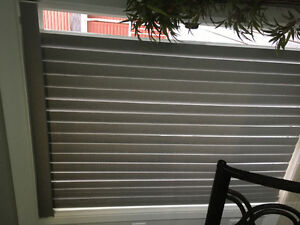 Brand new Blind for sliding door Grey