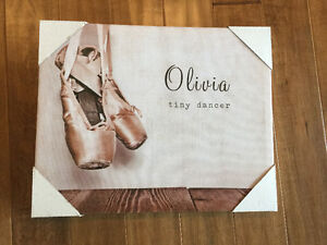 Nursery Canvas - Olivia brand new