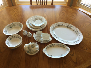 Royal Albert Brigadoon dishes