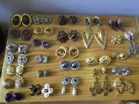 Joblot of Clip-On Earrings