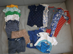 Baby boy 6 month summer lot