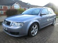 04/04 AUDI A4 1.9 TDI SPORT AVANT IN MET GREY WITH SERVICE HISTORY