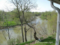 River View!!!!  2 Bedroom Appartment. Great location!!!!