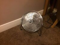 STAINLESS STEEL HEAVY DUTY ELECTRIC FAN £10 GREAT DEAL