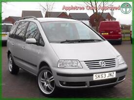 2003 (53) Volkswagen Sharan 1.9TDI PD Sport 130 Bhp