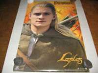 Funky 2002 LOTR. >>THE TWO TOWERS<< *LEGOLAS* Poster