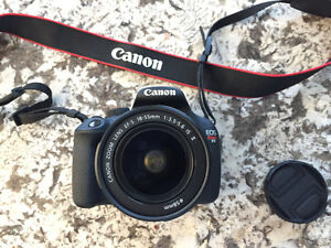Canon T5 EOS Rebel & 18-55mm IS Kit Lens for $320