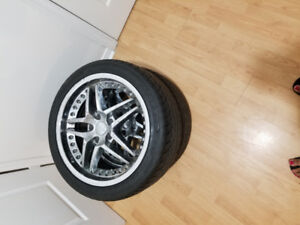 Tires and rimes for sale 245 40 18