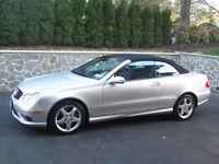 2004 Mercedes CLK 500 Convertible Cabriolet Pas De Taxe  A1 ent