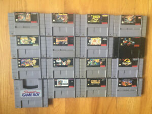 Games for Super Nintendo
