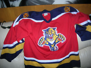 Florida Panthers NHL Hockey team jersey CCM Made In Canada