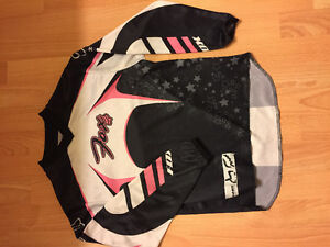 Girls bike jersey youth M