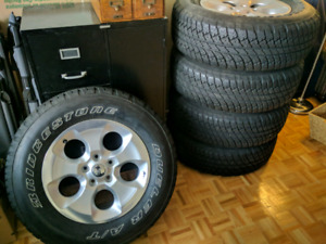 Jeep tires 80% tread great condition