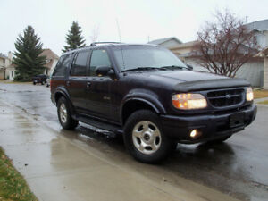 2001 Ford Explorer limited edition SUV, Crossover,Reduced!