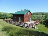 One of a kind seasonal get away or year round home!