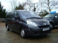 2008 PEUGEOT EXPERT 1.6 HDI TEPEE COMFORT 6S DISABLE WHEEL CHAIR ACCESS