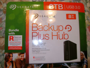 Seagate Backup Plus Hub 8TB USB 3.0 External Hard Drive