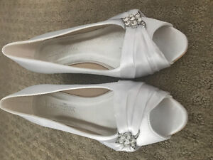 Bridal Wedges - Brand New, Never Worn