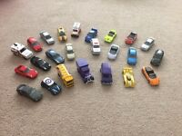 24 toy cars
