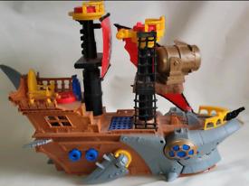 Imaginext shark bite boat