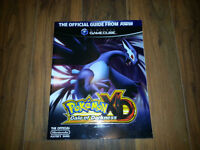 Nintendo Power Pokemon XD official guide, excellent état.