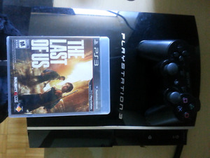 PS3 with The Last of Us