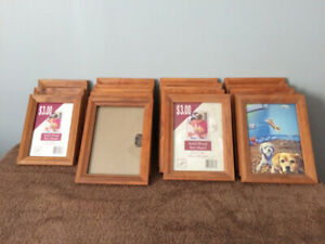18 Matching Picture Frames - Wood