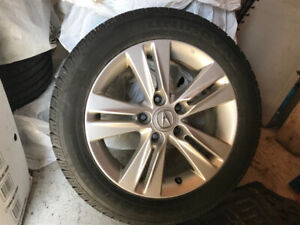 205/55R16 All Season Tires on Alloy Rims