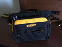Lost-Stolen DeWalt tool bag and Sears plastic bag with clotes