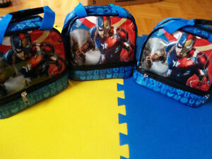 NEW: Star Wars or Superhero Lunch bag - $10 each - NO TAX