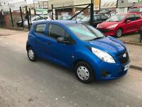 2010/60 Chevrolet Spark 1.0 + 5dr ONLY 42679 MILES ONLY £30 ROAD TAX PA