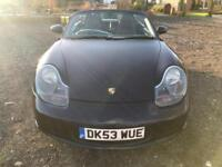 2003 PORSCHE BOXSTER CONVERTIBLE BLUE LOW MILES & FULL SERVICE HISTORY